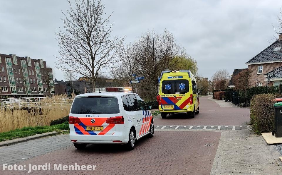 Aanrijding auto / fiets op de Noordersingel bij de kruising met de Noorderhoeve