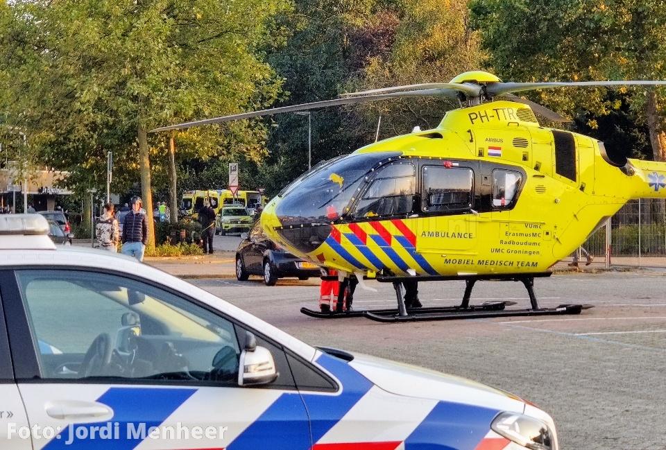 Scooterrijder gewond geraakt bij ongeval aan de Lindehoevelaan