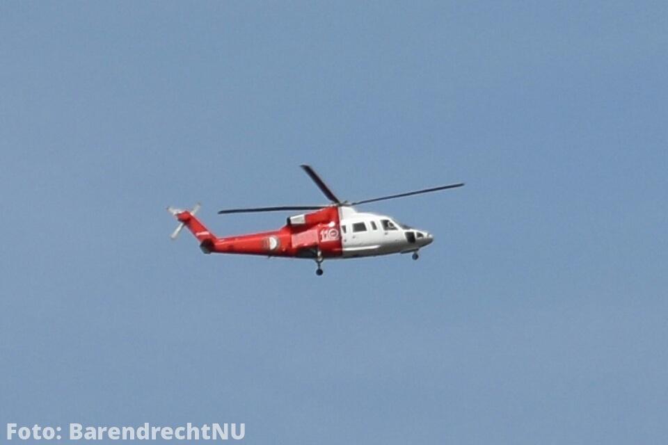 Live: Feyenoord helikopter gespot boven Barendrecht: Gaat zo naar de Open Dag in De Kuip
