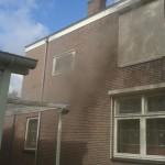 Brand op bovenverdieping van woning aan de Stationsweg in Barendrecht