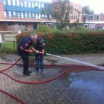Pleinfeest voor 140 kinderen bij Yulius aan de Boerhaavelaan in Barendrecht