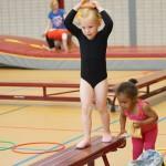 Peuter- en kleutergym groepen bij Gymnastiekvereniging Barendrecht