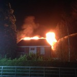 Bewoners op tijd uit woning bij uitslaande brand aan de Gebroken Meeldijk