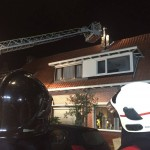 Nachtelijke uitruk voor melding van woningbrand aan de Talmaweg