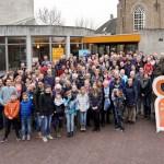 Recordaantal vrijwilligers actief tijdens 5e Veranderdag van Stichting Present