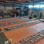 Container met 4.000 kilo cocaïne eindigt bij bedrijf in Barendrecht