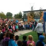 Nieuw speeltoestel voor CBS de Vrijenburg en kinderen uit de wijk (Carnisselande, Barendrecht)