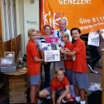 Kika-actie JD1 Hockeyclub Barendrecht haalt €500,- op