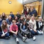 Leerlingen tweetalig onderwijs Calvijn naar Nienburg