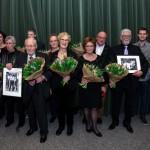 Jubilarissen Harmonievereniging Barendrecht gehuldigd