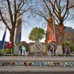 Dodenherdenking 2016, Dorpsstraat, Barendrecht