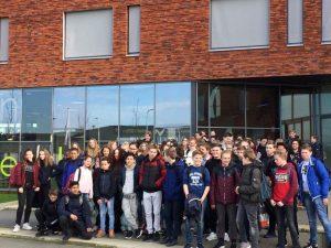 Calvijnleerlingen ontvangen uitwisselingspartners uit Nienburg
