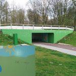 Nieuwe muurschilderingen Buitenoord tunneltje al beklad voor officiële onthulling