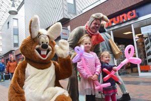Lentekriebels evenement in winkelcentrum Carnisse Veste