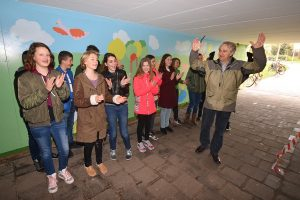 Schilderingen van tunnelproject Park Buitenoord officieel onthuld
