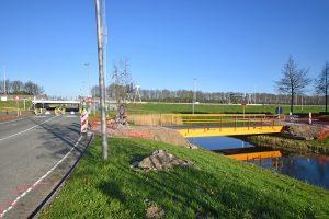 Werkzaamheden begonnen voor aanleg van nieuwe rotonde Breslau/Hamburg