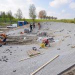 Nieuwe fietscrossbaan op Sportpark De Doorbraak begint vorm te krijgen