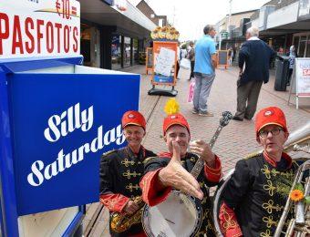 Silly Saturday op 27 mei in het centrum met doldwaze fanfare-act