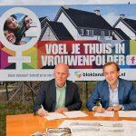 Groen licht voor nieuwbouw Vrouwenpolder: 36 koopwoningen en 55 huurappartementen