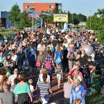 Archieffoto: Intocht Avondvierdaagse Barendrecht, Dag 4 2016