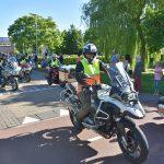 Hemelvaart Motorrit van start vanaf Aksent aan de Bachlaan