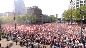 Honderden leerlingen van Barendrechtse scholen krijgen verlof voor Feyenoord huldiging