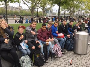 56 leerlingen Dalton Lyceum op VTO-Reis: London was great!
