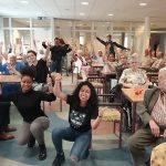 Studenten organiseren spelletjesmiddag voor de ouderen aan de Windsingel