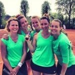Dames 1 van Tennisvereniging Barendrecht kampioen