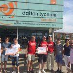 Dalton leerlingen rennen recordbedrag bij elkaar voor Roparunteams