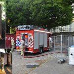 """Brandstichting bij sporthal Vitaal: """"Zeer ongewenst maar ook zeer gevaarlijk"""""""