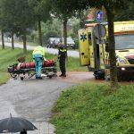 Snorfietser gewond bij aanrijding op de Middeldijk