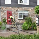 Brandalarm woning Hendrikse-Akker: Pannetje te lang op het vuur, brandweer via raam naar binnen