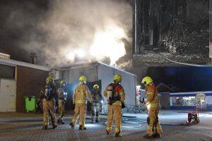 Brand bij Domino's Pizza op 't Vlak veroorzaakt grote schade