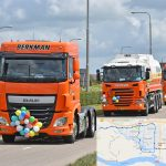 Archieffoto Truckrun 2016 met route Truckrun 2017