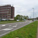 Henry Dunantlaan richting rotonde 1e Barendrechtseweg