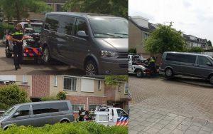 Bewoner Van Eesterenveld ziet auto gestolen worden, achtervolging op fiets: auto dankzij tip gevonden