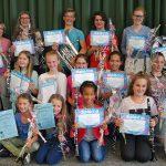 Diploma's uitgereikt bij Harmonievereniging Barendrecht