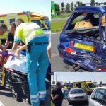 Files na aanrijding met meerdere gewonden op de Kilweg en afsluiting afrit A29