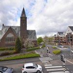 Bethelkerk Barendrecht, gezien vanuit Het Kruispunt
