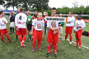 25ste editie Nationaal G-Voetbal Toernooi bij BVV Barendrecht op 2 augustus