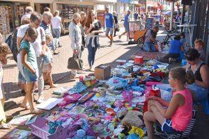 Archieffoto: Kindervrijmarkt Centrum Barendrecht 2016