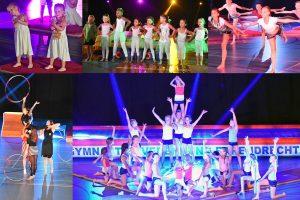 FOTO'S: Wegdromen tijdens Grote Gymshow door Gymnastiekvereniging Barendrecht