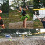 Eerste Beach Tennis toernooi op Sportpark de Bongerd