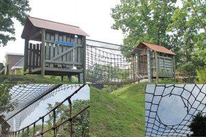 Vandalen vernielen speeltoestel Oranjespeeltuin, vereniging wil bewakingscamera's
