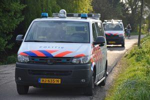 Politieauto's in Zuidpolder, Barendrecht