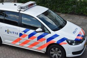 Politieauto (Centrum Barendrecht)