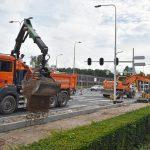 Kruispunt 1e Barendrechtseweg opent a.s. maandag om 11:00 uur