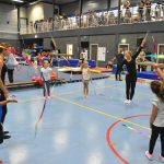 Springen, slingeren, dansen en turnen tijdens Open Instuif bij GVB