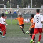 Nieuw dameselftal 'Excelsior Barendrecht' wint oefenwedstrijd van BVV JO15-1 op de Bongerd